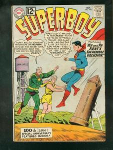 SUPERBOY #100 1962-SPECIAL ANNIVERSARY ISSUE-MA/PA KENT G-