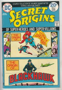 Secret Origins #6 (Feb-74) VF/NM High-Grade The Legion Of Super-Heroes, Black...