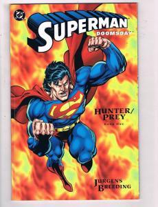Superman Doomsday Hunter Prey # 1 2 3 DC Comics Graphic Novel Comic Books JH4