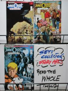 JONNY QUEST CLASSICS (C) 1-3  complete series!