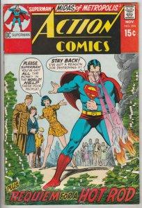 Action Comics #394 (Nov-70) FN Mid-Grade Superman