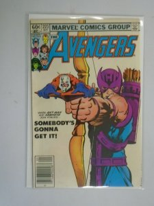 Avengers #223 Newsstand edition 5.0 VG FN (1982 1st Series)