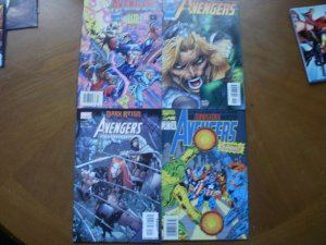 4 Marvel AVENGERS Comic #388 (1995) +#5 (1997) + #24 Initiative + #3 Terminatrix