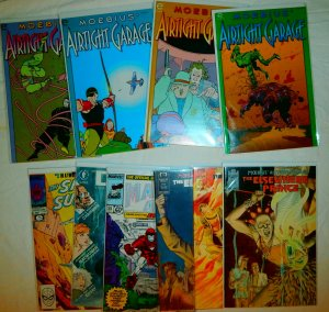 Moebius' Airtight Garage #1-4, Elsewhere Prince   #3-5 +++ (set of 10)