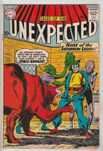 Tales of the Unexpected #58 (Feb-61) VG/FN High-Grade Space Ranger, Cyrl