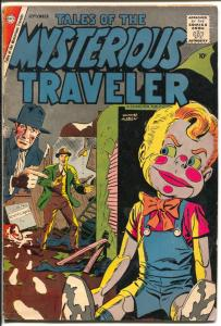 Tales of The Mysterious Traveler #9 1958-Charlton-Ditko horror stories-VG-