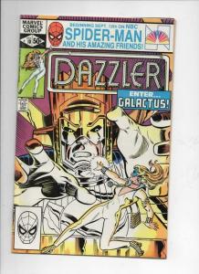 DAZZLER #10, VF/NM, Galactus, 1981, more Marvel in store