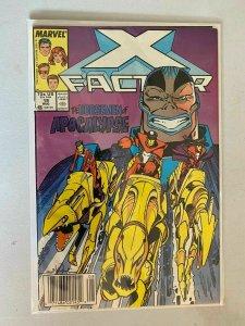 X-Factor #19 Newsstand edition 4.0 VG (1987 1st Series)