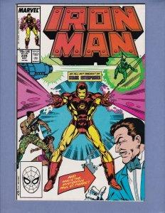 Iron Man #235 NM- Grey Gargoyle Marvel 1988