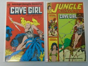 Cave Girl lot 2 issues (1988) 6.0 FN