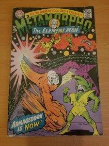 Metamorpho #15 ~ FINE FN ~ (1967, DC Comics)