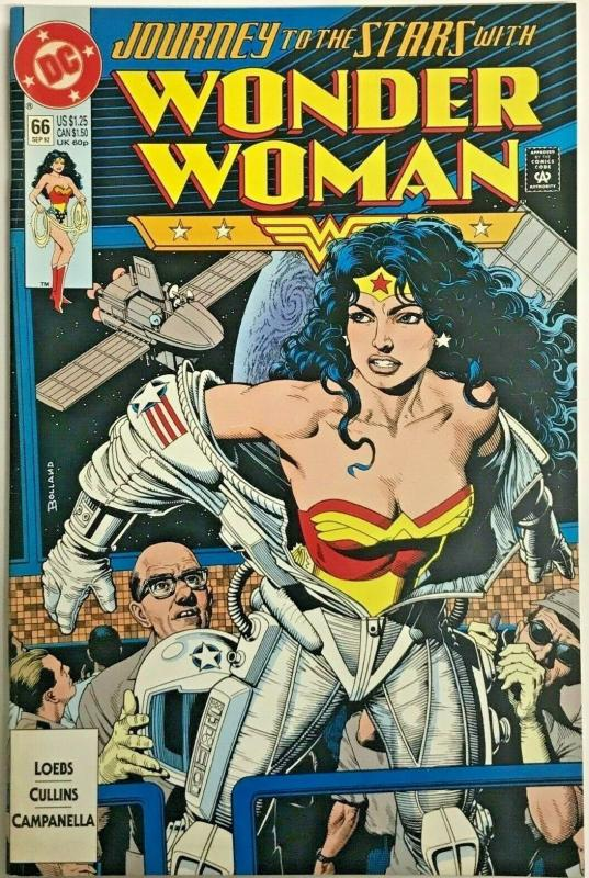 WONDER WOMAN#66 FN/VF 1992 DC COMICS