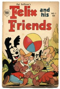 Felix and His Friends #1 1953-1st issue-Kongo Kid- VG