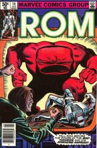 Rom (1979 series) #14, VF+ (Stock photo)