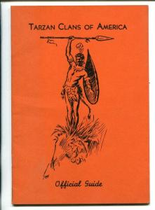 TARZAN CLANS OF AMERICA OFFICIAL GUIDE  1939-EDGAR RICE BURROUGHS ESTATE-nm