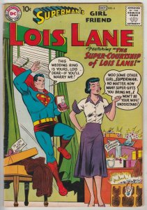 Lois Lane, Superman's Girlfriend  #4 (Oct-58) VG/FN Mid-Grade Superman, Lois ...