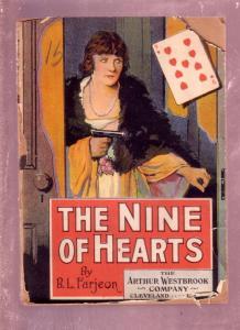 THE NINE OF HEARTS-L. FARJEON-1909-DIME NOVEL FR