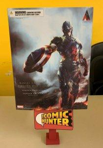 Marvel Universe Variant Action Figure Play Arts Kai  Captain America
