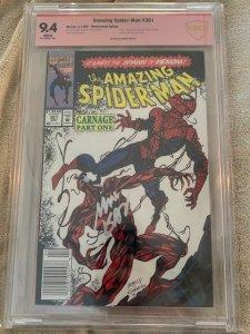 Amazing Spider-man 361 CBCS 9.4 Autographed