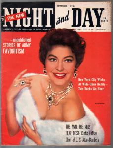 Night and Day 9/1954-Ava Gardner-Louis Armstrong-Gen Curtis LeMay-VG