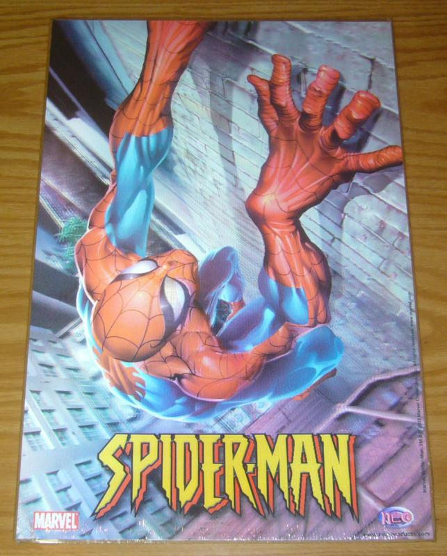 Spider-Man motion poster - 18 x 12 - lenticular - marvel comics 2003 neo