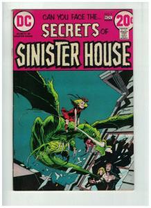 SECRETS OF SINISTER HOUSE 7 FINE Nov. 1972