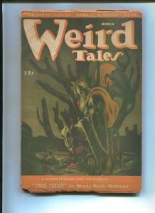 WEIRD TALES JULY 1945-LEE BROWN COYE-RAY BREADBURY-VG
