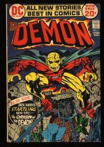 Demon #1 FN 6.0 1st Etrigan!