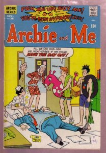 ARCHIE AND ME #36 1970 MR WEATHERBEE SCHOOL COVER VG