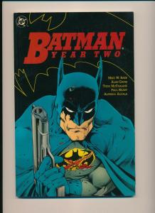 DC Comics BATMAN Year Two 2 GN TPB ~ 1990 FN (PJ49)