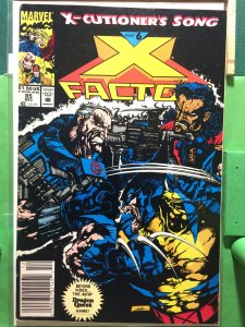 X-Factor #85 X-cutioner's Song part 6