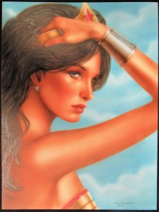 Wonder Woman by Dorian Cleavenger Painting
