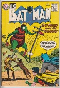 Batman #143 (Oct-61) FN/VF+ High-Grade Batman