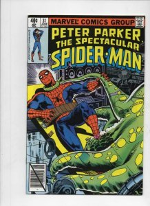 Spectacular Spider-Man #33 FN 1979 Stock Image