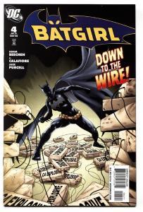BATGIRL #4 comic book-2008-DC