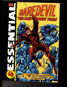 Essential Daredevil Vol. # 4 Marvel Comics TPB Graphic Novel Comic Book TD5