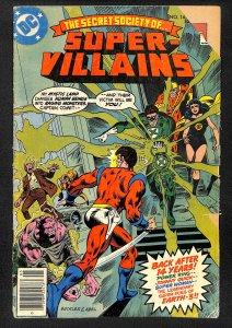 DC Comics (1976) Secret Society of Super-Villains #14 Gerry Conway Rich Buckler