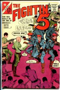 Fightin' 5 #32 1965-Charlton-America's Super Squad-VG