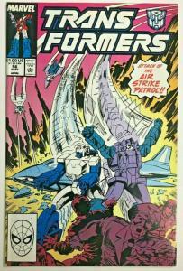 TRANSFORMERS#56 VF 1989 MARVEL COMICS