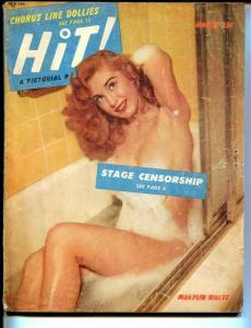 Hit! 3/1953-Marylin Waltz--pin-ups-cheesecake-exploitation-G