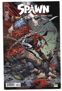 SPAWN #196 2010 Low print run-Image comic book
