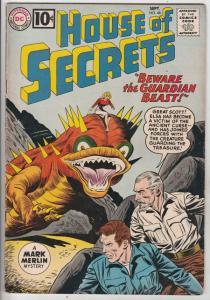House of Secrets #48 (Sep-61) FN+ Mid-High-Grade Mark Merlin