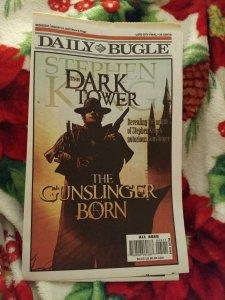 The Daily Bugle Newspaper  VG / Dark Tower Gunslinger Born Sketchbook NM