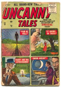 Uncanny Tales #31 1955- Atlas comics- low grade copy