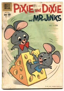 Pixie and Dixie and Mr Jinks-Four Color Comics #1112 1960