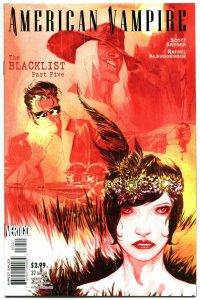 AMERICAN VAMPIRE #32, VF+ , BlackList, Vertigo, 2010, Variant, more in store