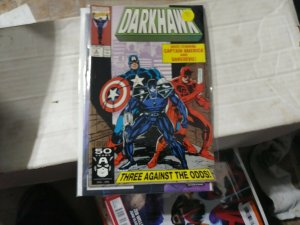 darkhawk # 6 1991 marvel CAPTAIN AMERICA +DAREDEVIL U-FOES