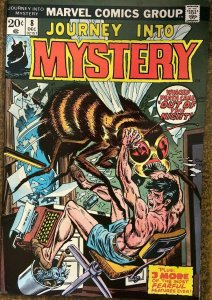 JOURNEY INTO MYSTERY #8  (Marvel, 12/1973) FINE-VERY FINE (F-VF) Horror reprints