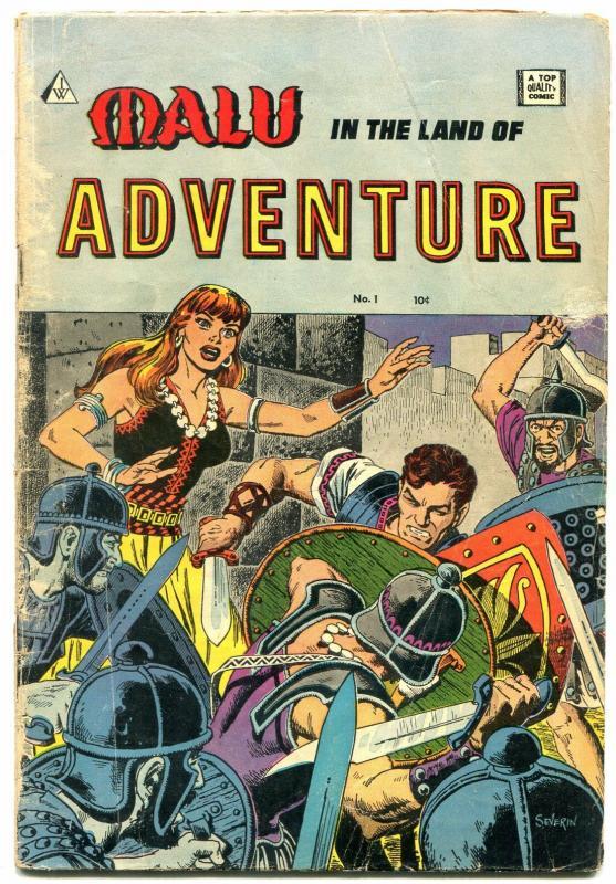 Malu in the Land of Adventure #1 1963- Golden Age reprints- GGA G