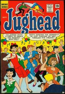 Archie's Pal Jughead #124 1965- Big Ethel cover- Betty & Veronica VF
